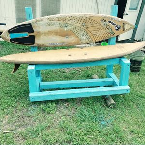 Vintage Surfboard bench for Sale in San Antonio, TX