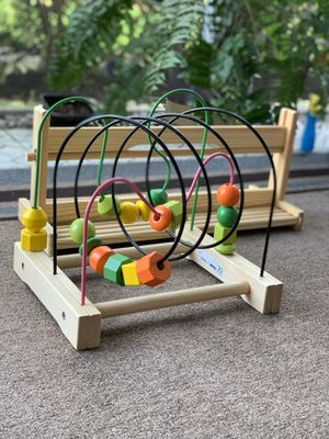 IKEA wooden kids toy and paper roll holder for Sale in Pompano Beach, FL