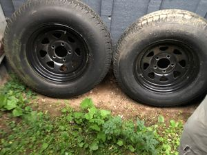 Trailer rims and tires for Sale in Seattle, WA