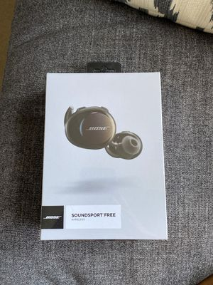 BOSE SOUNDSPORT FREE WIRELESS HEADPHONES for Sale in Cary, NC