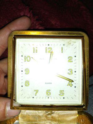 1930s antique phinney walker alarm clock watch for Sale in San Antonio, TX