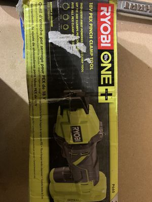 ryobi 18 v pex pinch clamp tool ( tool only) for Sale in League City, TX