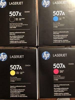HP CE400X CE401A CE402A CE403A Set - New in A Box for Sale in Grand Prairie, TX