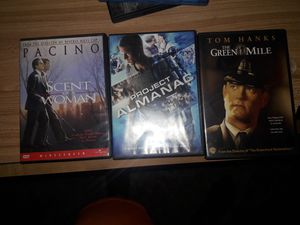 The Green Mile, Project Almanac, and Scent of a Woman. for Sale in Wichita, KS