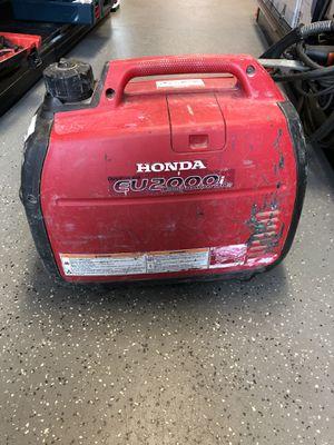Honda EU2000 Portable inverter generator #11691-1 for Sale in Revere, MA