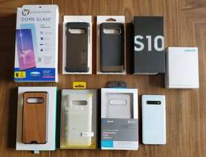Samsung Galaxy s10 AT&T (unlocked) bundle for Sale in Lawndale, CA
