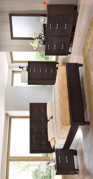 Onoto bedroom set 🍈 Juego de Recamara Queen completa Cama for Sale in Dallas, TX