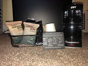 Single cup coffee/tea maker Cafe Valet for Sale in Pittsburgh, PA