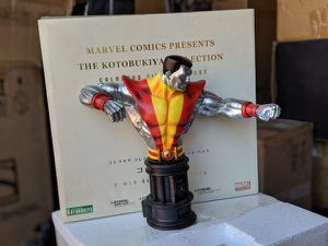 Kotobukiya X-Men Colossus Fine Art Bust Statue Marvel for Sale in Montebello, CA