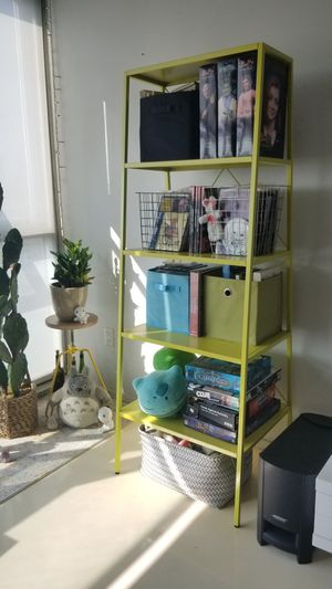 CB2 Lime Green Modern Bookcase Bookshelves for Sale in Los Angeles, CA