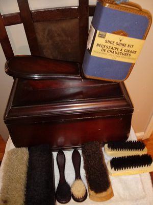 Complete shoe shine kit for Sale in Nashville, TN