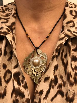 Used, Mabe pearl 16mm pendant on shell for Sale for sale  Suisun City, CA