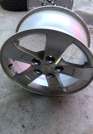 Chevy Rims size 16 (4 set) & Trailer Blazer rims w/ tire for Sale in Santa Ana, CA