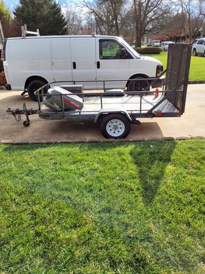Trailer with ramp for Sale in Lincroft, NJ