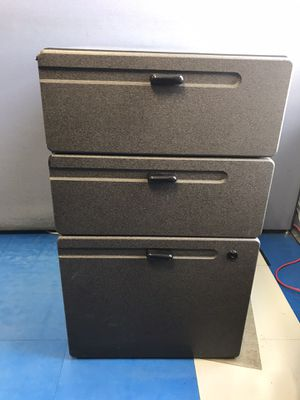 Gray File Cabinet for Sale in Wood Dale, IL