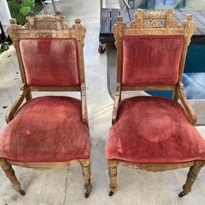 Antique Royalty Chairs - Pair for Sale in Lakewood, CA