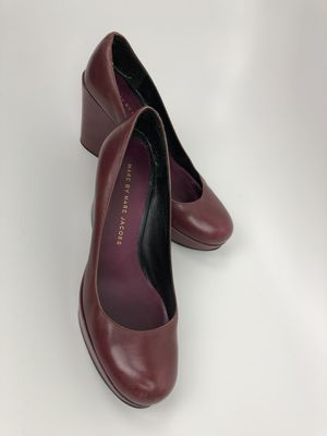 Marc Jacobs leather wedges SZ 37 US 6.5 / 7 for Sale in Salt Lake City, UT