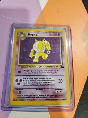 Pokemon card Hypno fossil holo mint condition for Sale in The Bronx, NY