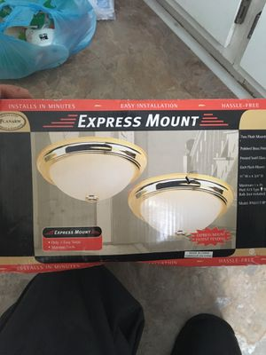 Two light fixtures. Cheap! for Sale in Chesapeake, VA