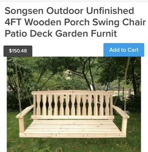 Porch Swing for Sale in Rancho Cucamonga, CA