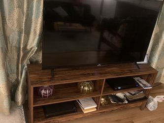 "TCL 55"" TV With Wood Stand for Sale in Bellevue,  WA"