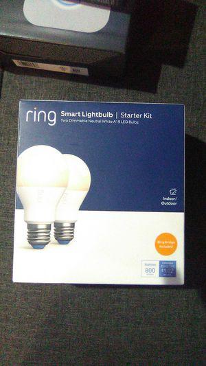 Ring Smart Lightbulb Starter Kit for Sale in Norwich, CT