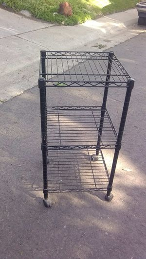 Black kitchen rack for Sale in Denver, CO