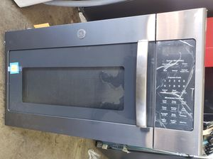 New G.E Over the range microwave Black stainless for Sale in Lynwood, CA