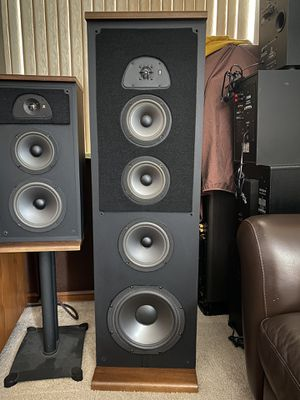 **2 PAIRS** of Acoustic Research Speakers for Sale in Las Vegas, NV