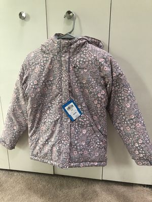 95$ NEW AUTHENTIC WATERPROOF COLUMBIA GIRLS JACKET SIZE-YOUTH MEDIUM for Sale in Savage, MD