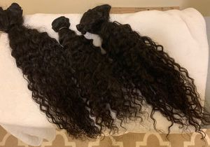 Deep wave 3 bundles & lace frontal for Sale in Washington, DC