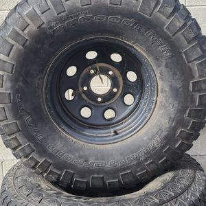 """35"""" Rims & Tires (Old Chevy Bolt Pattern) for Sale in Yucaipa, CA"""