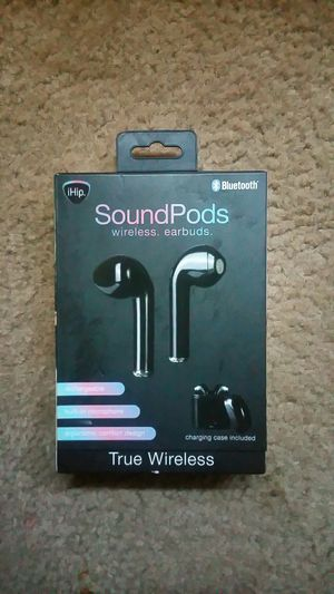 Soundpods wireless earbuds for Sale in Bakersfield, CA
