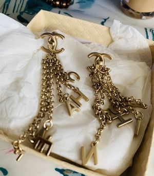 Gold filled earrings with stamp for Sale in Washington, DC