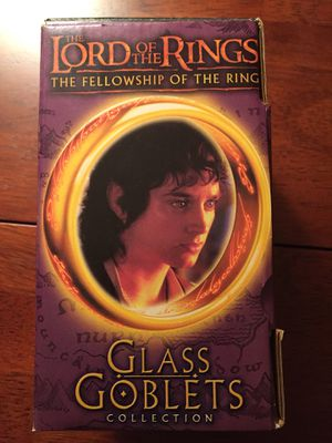 Lord of the Rings Frodo glass goblet, new in Box for Sale in Billerica, MA