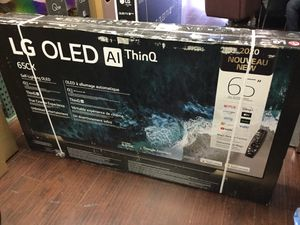 LG 65 inch OLED CX oled65Cx 4K TV smart with warranty 2020 Model for Sale in Corona, CA