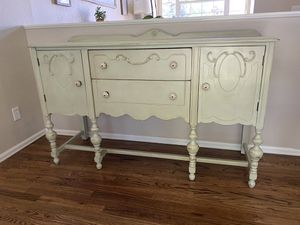 Refinished antique buffet for Sale in Thornton, CO
