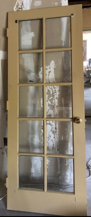 French door (one only) 10 pane for Sale in Chula Vista, CA