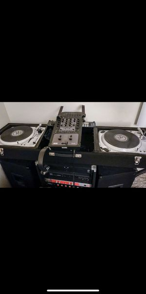 Dj equipment, 450GB of music, Lights, everything you need for Sale in Westminster, CA
