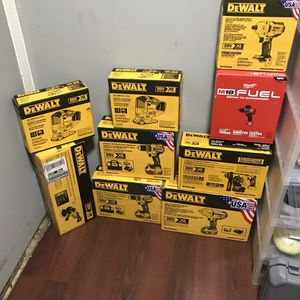 Dewalt Tools For Sale for Sale in Brooklyn, NY