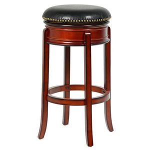 Bristol 24 in. Cherry Swivel Bar Stool for Sale in Atlanta, GA