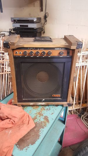 Crate amp for Sale in St. Louis, MO