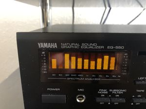 Yamaha Natural Sound Graphic Equalizer EQ-550 for Sale in Miramar, FL