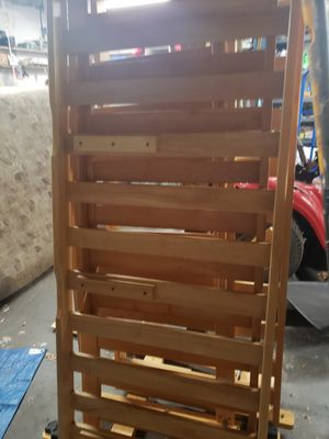 Wooden futon with drawers for Sale in Palm Harbor, FL