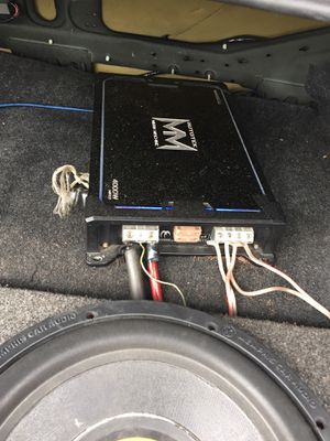 Autotek mean machine amp for Sale in Chicago, IL