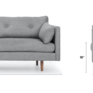 Scandinavian Style Anton Sofa From Article for Sale in Seattle, WA
