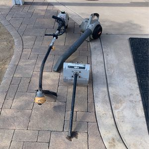 Ryobi Blower, Weed Eater, And Tiller Attachment for Sale in Chula Vista, CA
