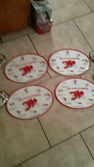 Lobster plates with the butter dishes for Sale in Phoenix, AZ