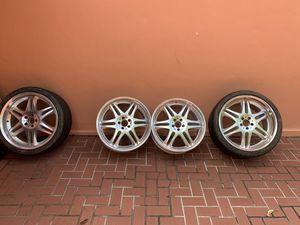 Mercedez-Benz CLS550 BRABUS monoblock 21inch rims, 2 rims with Michelin's tires. for Sale in Miami, FL