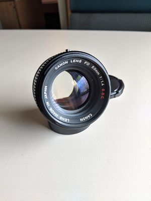 Canon FD 50mm f1.4 SSC Lens for Sale in Tacoma, WA